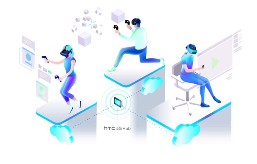 HTC 5G Hub VR