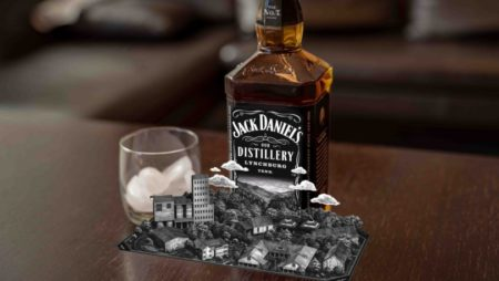 Augmented Reality Jack Daniels